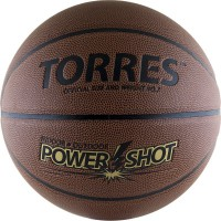 Мяч баскетбольный TORRES Power Shot - Profsportural.ru