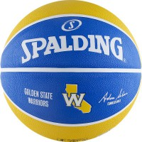 Мяч баскетбольный Spalding Golden State Warriors - Profsportural.ru