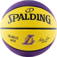 Мяч баскетбольный SPALDING NBA Team Los Angeles Lakers - Profsportural.ru